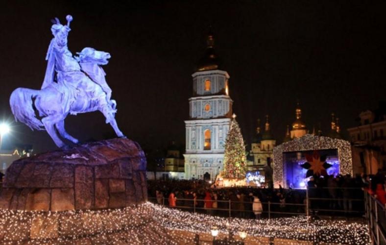 Новорічні вогні Києва