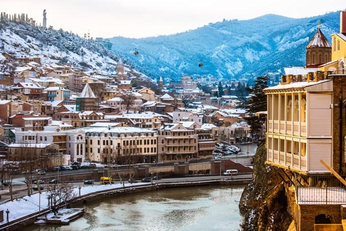 Новогодний тур в Грузию