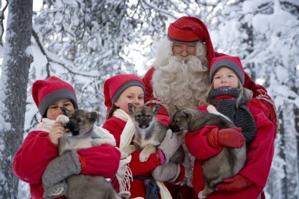 Новогодние праздники в Лапландии