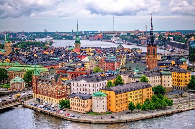 Удивительный Стокгольм + Вояж по Балтике
