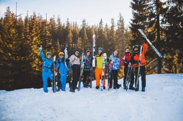 Санки, Лыжи И Смереки