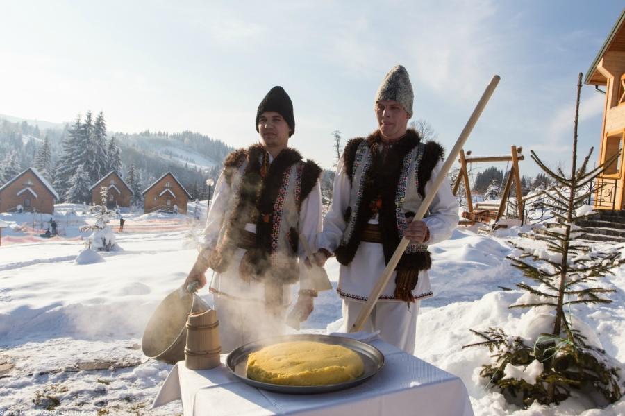 Зимові канікули на Прикарпатті