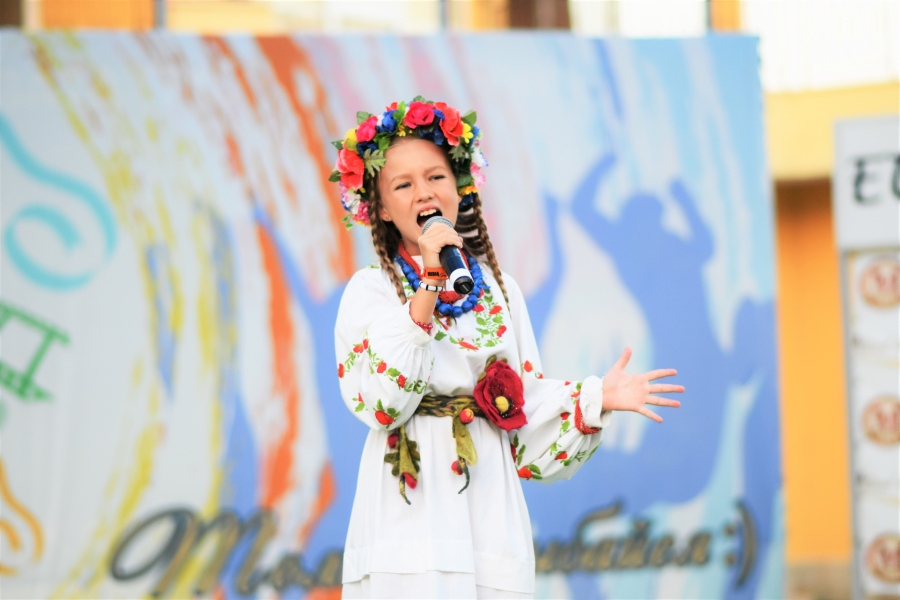 Конкурс украинской песни Катерины Бужинской в Болгарии в лагере Midia Grand Resort