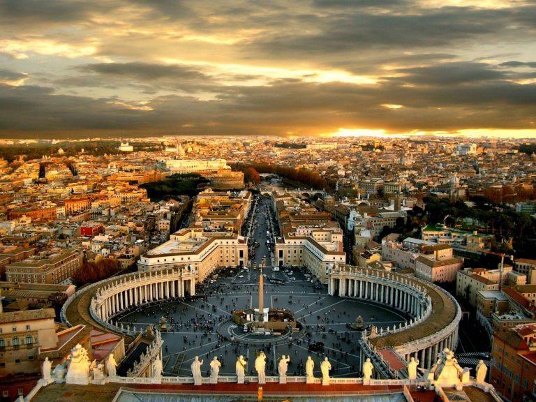 Рима осень