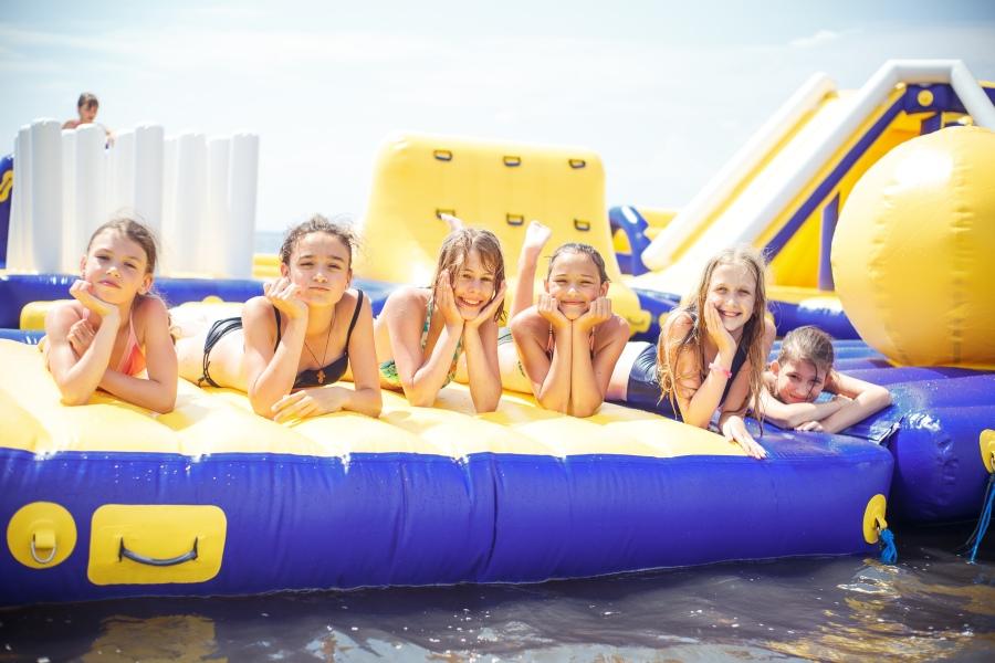 детский лагерь Бригантина пляж