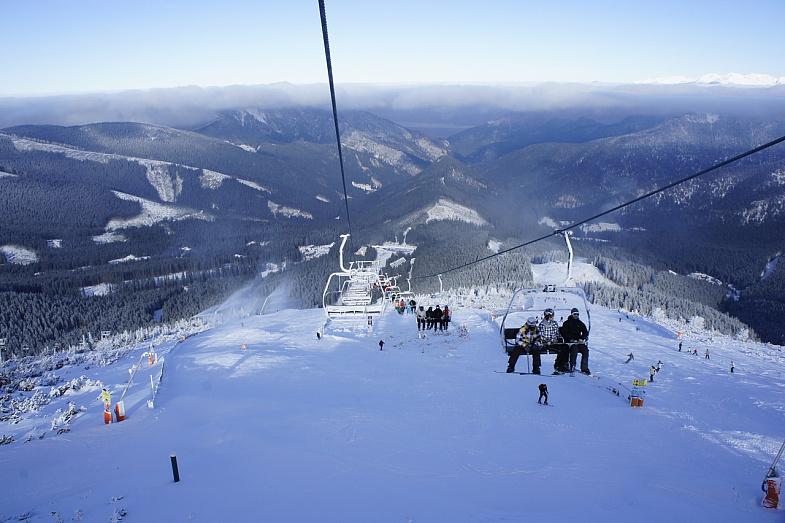 Зимние каникулы на горнолыжном курорте Ясна