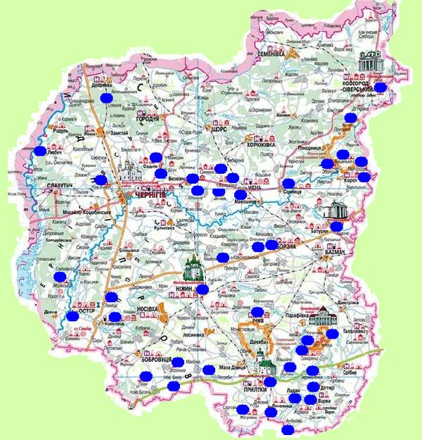 Цикл экскурсионных маршрутов от «Элита-тур» — Черниговщина