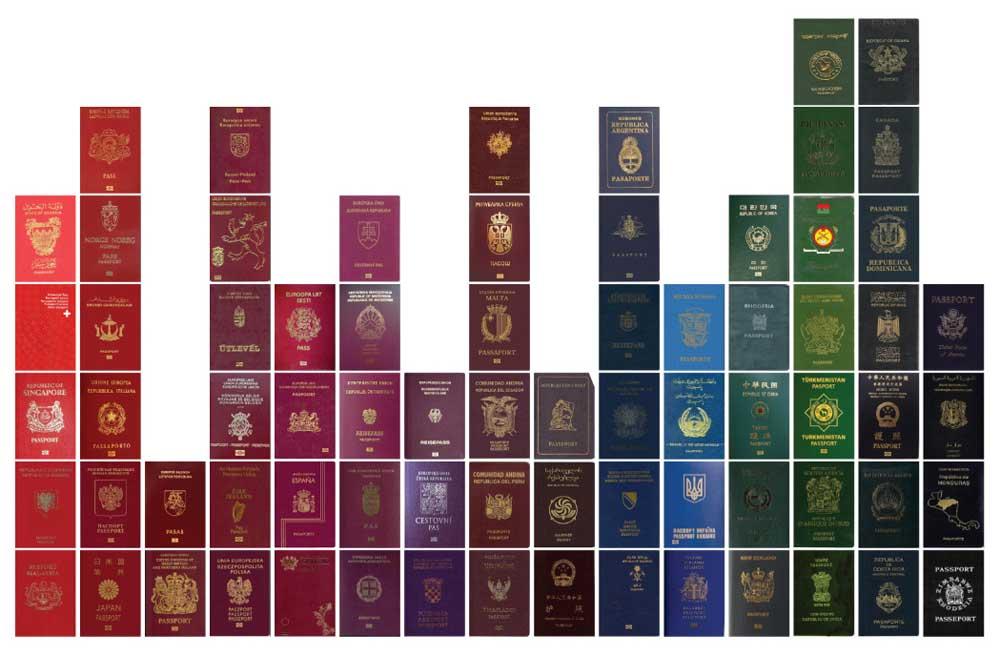 Цвет паспорта. О чём он может рассказать?