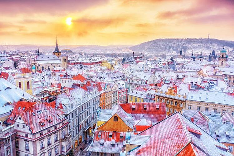 Твои зимние каникулы в Праге