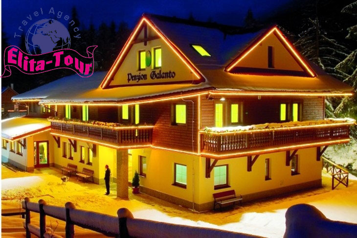 Отель Галанто, Словакия, зима