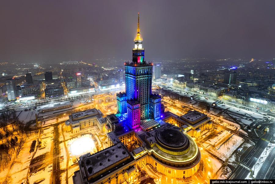Площадка Дворца культуры и науки в Варшаве
