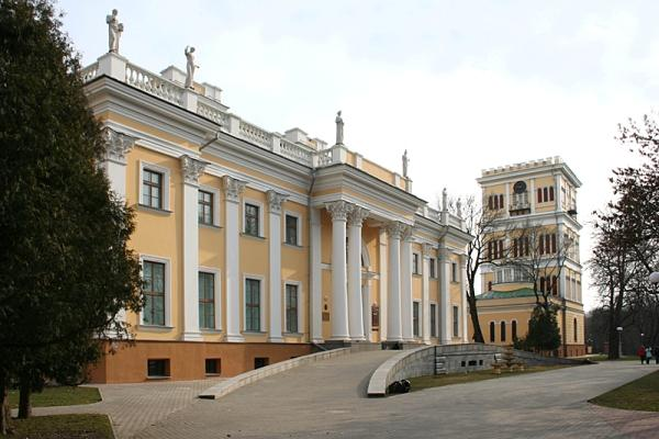 Польша парковый комплекс Чарторыйских