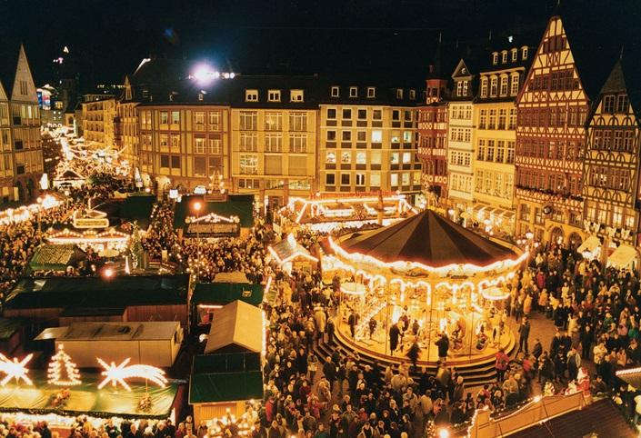 Мюнхен, Новый год, Рождество