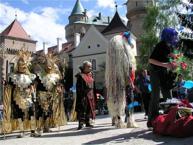 Словакия-Бойницкий замок