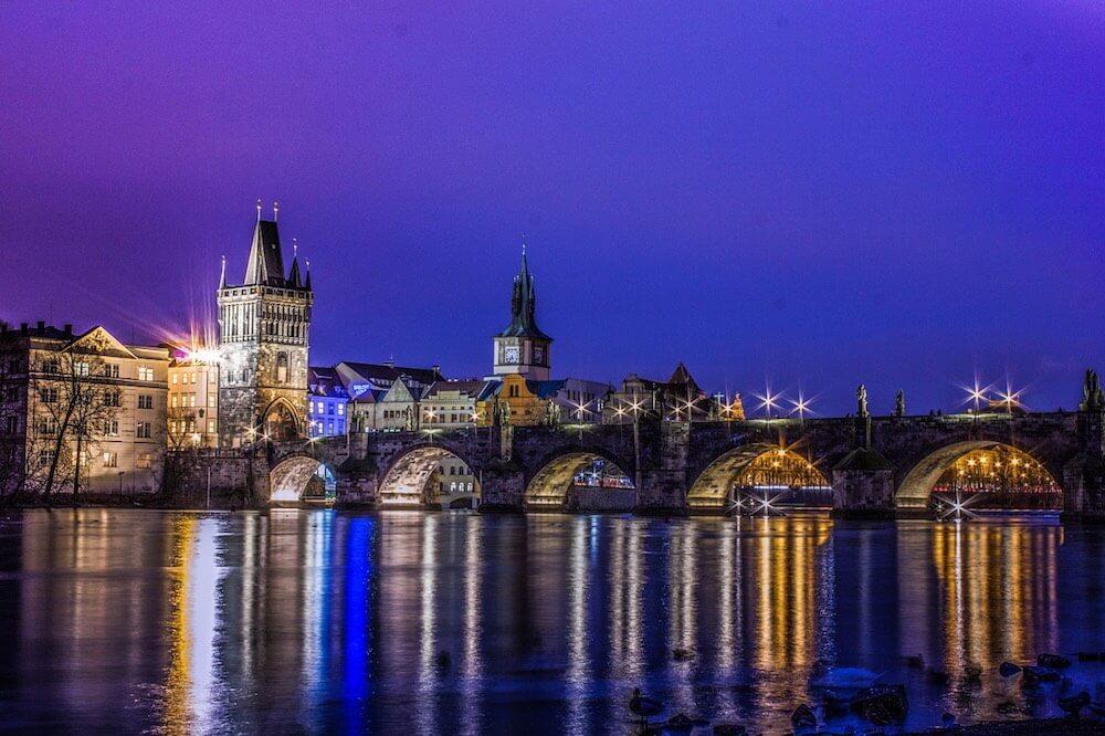 Прага Карлов - мост