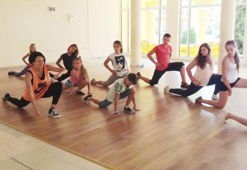 танцевальные сборы в лагере  «Midia Grand Resort»