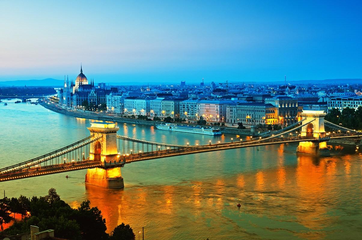 Будапешт ночной