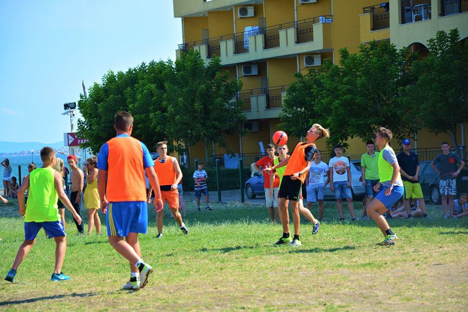 спорт в лагере Мидия
