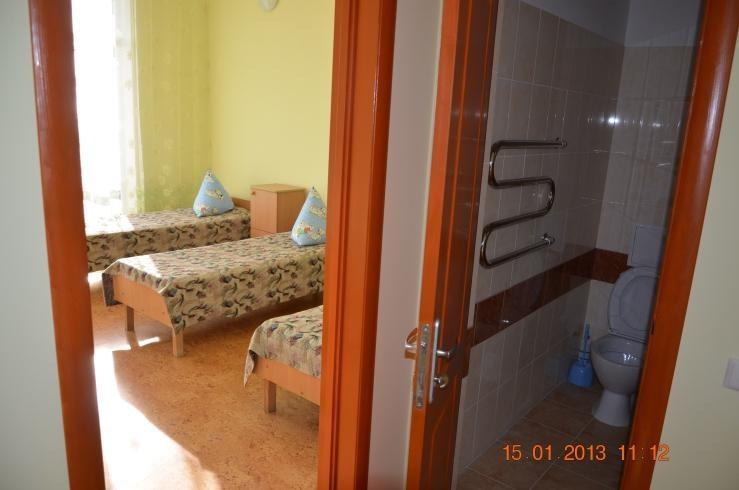 комнаты в лагере Романтик