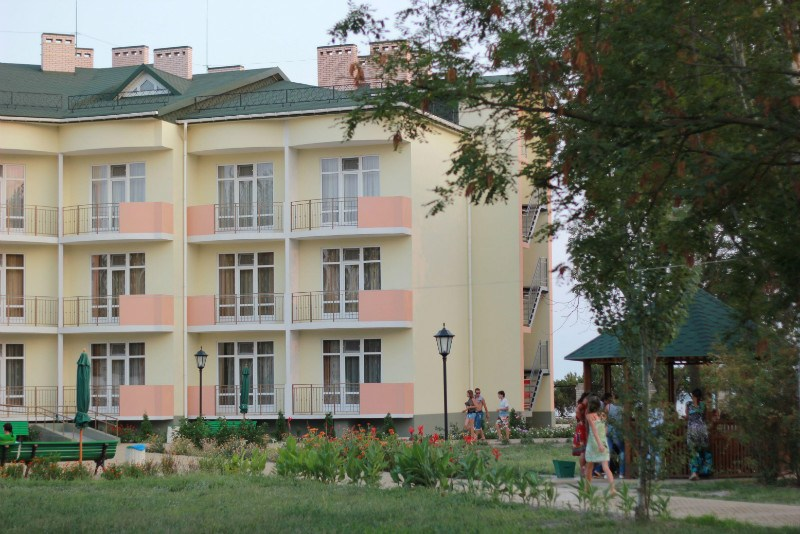 лагерь Романтик - корпус