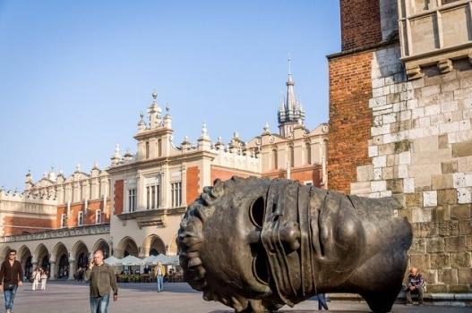 площа рынок в Кракове