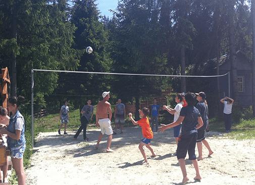 """волейбол Летний лагерь """"ТЕРЕМ"""""""