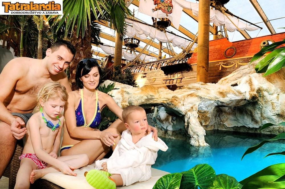 Посещение термального аквапарка «Татралендия»