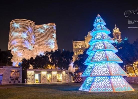 Баку новогодний