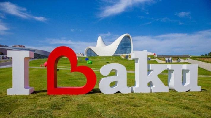I love Baku