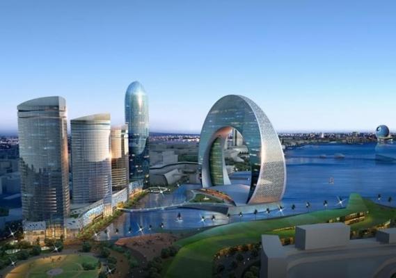 Небоскребы Баку