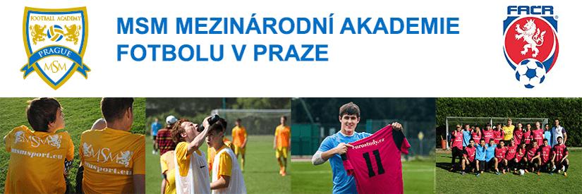 футбольный лагерь в Праге