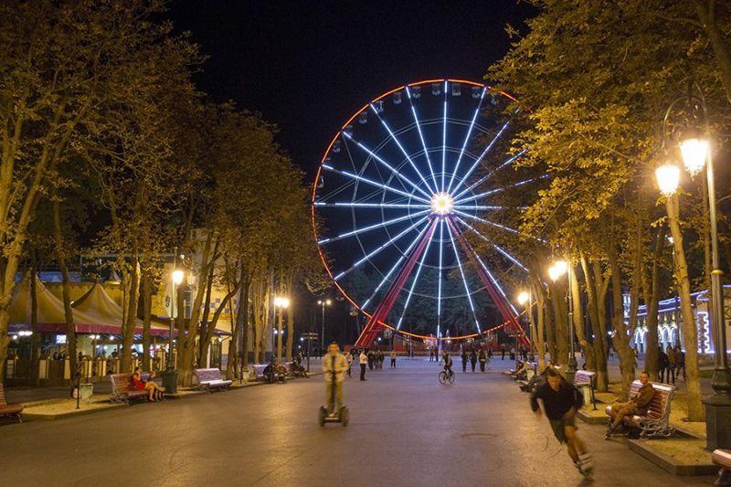 Харьков колесо обозрение
