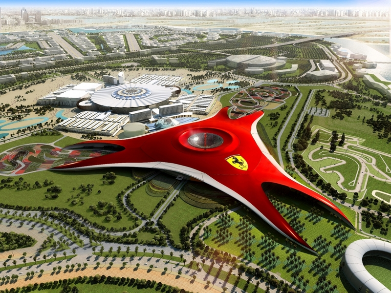 Ferrari World, Абу-Даби