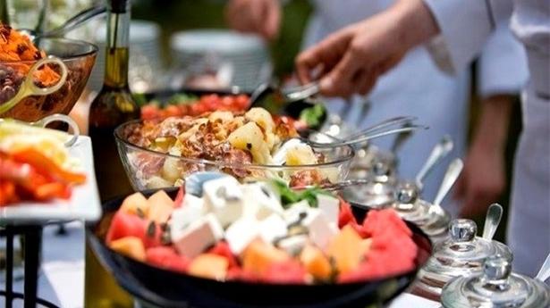лагерь в Греции еда