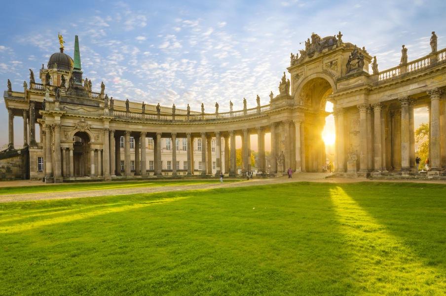 Город дворцов и парков Потсдам