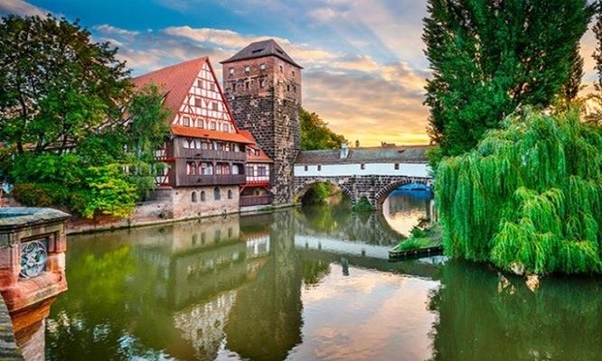 Прага, Париж и Вена