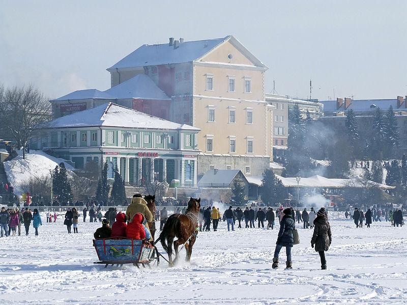 Зимові канікули на Тернопіллі