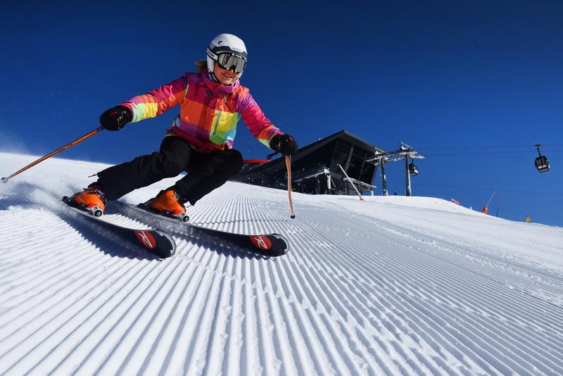 Катание на лыжах на лучших трассах в Низких Татрах