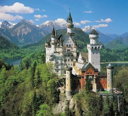 Самый красивый замок  Европы