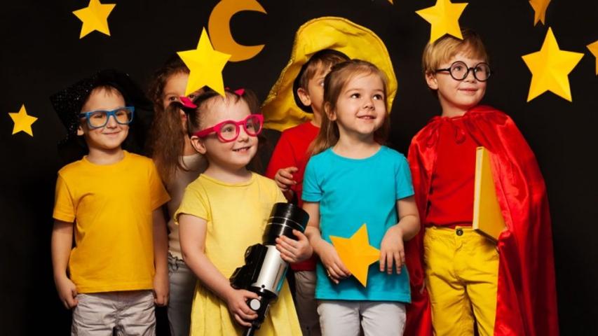актерское мастерство в детском лагере