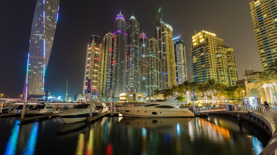 прогулка по вечернему Абу-Даби