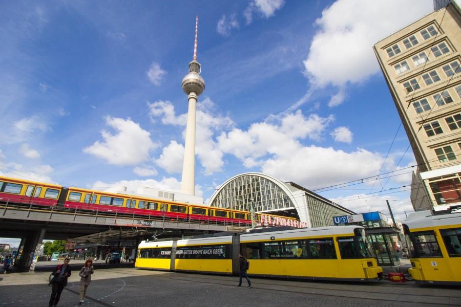 Alexanderplatz Берлин