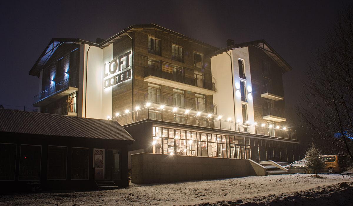 Отель LOFT HOTEL Буковель